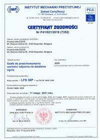 files/certificates ASG LSF - IMP